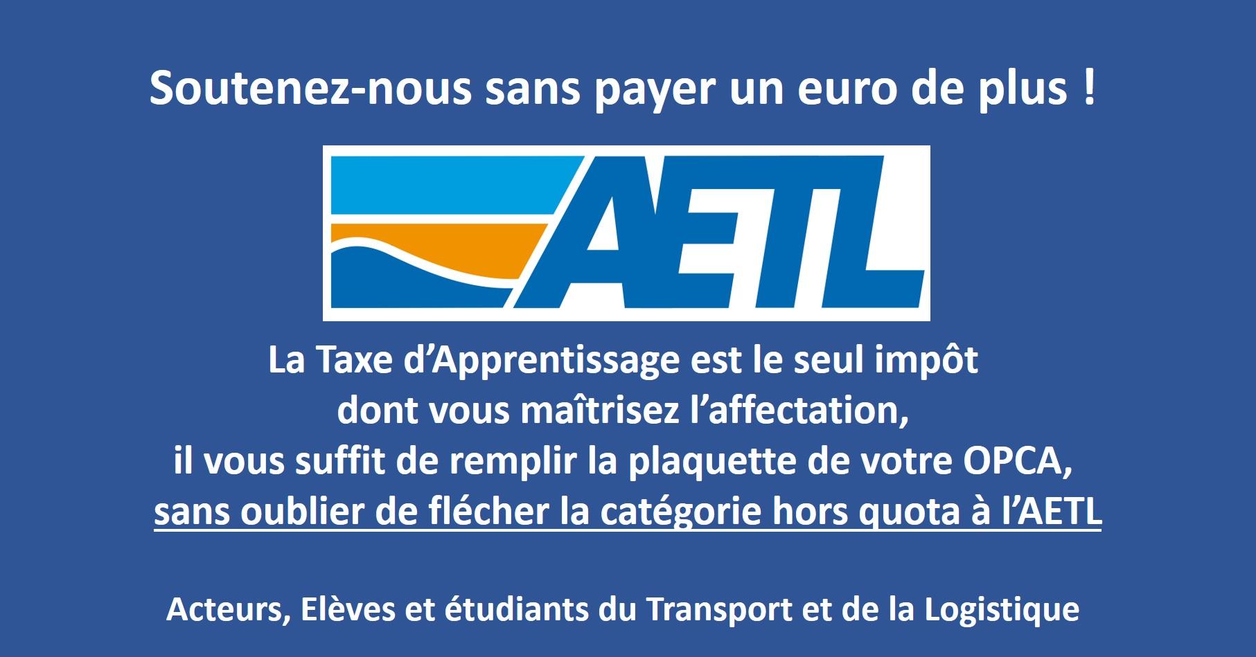 Soutenez l'AETL gratuitement !...